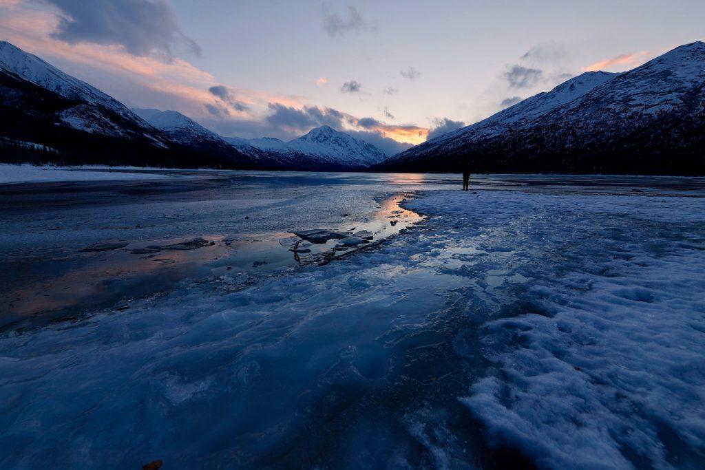 Image of Arctic landscape to complement article content